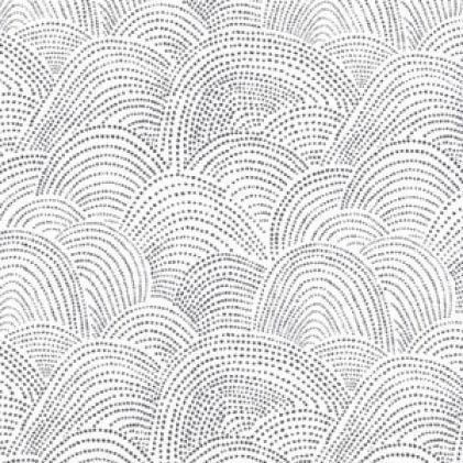 Desert Bloom Scallop Dot White