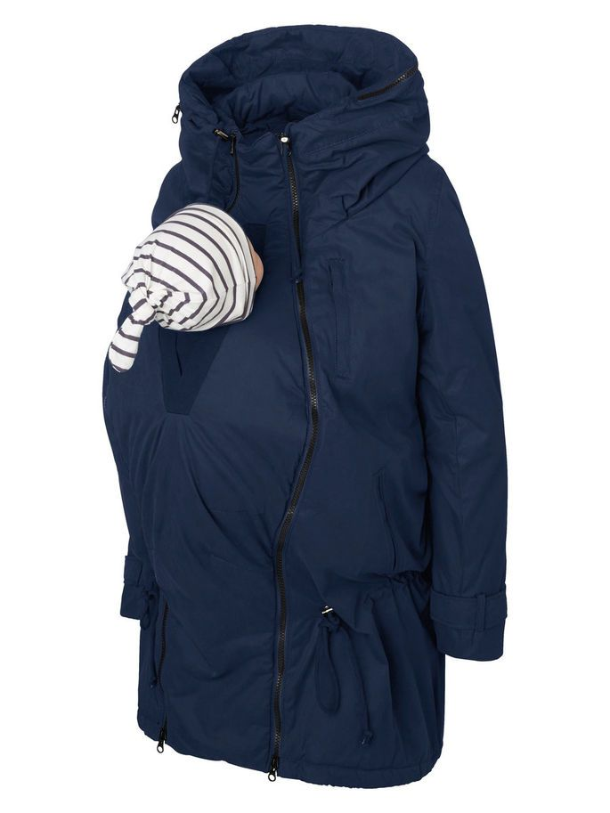 3-IN-1, GEFÜTTERT, WINTER UMSTANDSJACKE, Navy Blazer, large