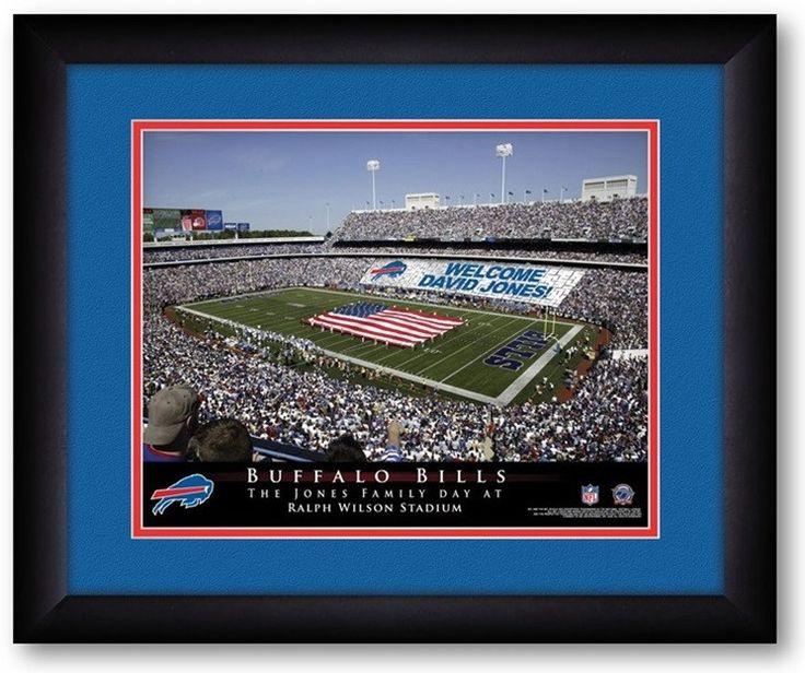 Buffalo Bills NFL Personalized Stadium Print Buffalo