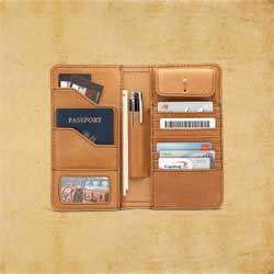 Big Leather Wallet