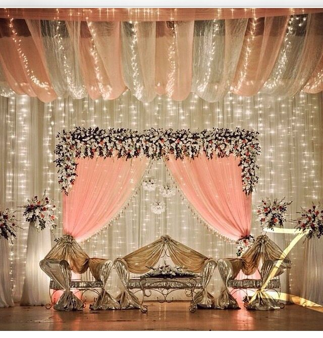 21 best wedding decor images on pinterest indian bridal indian pakistani wedding decor ideas elegant junglespirit Choice Image