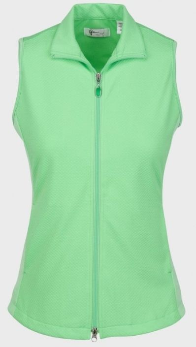 Check out our Cilantro ESSENTIALS Greg Norman Ladies & Plus Size Honeycomb Textured Knit Golf Vest! Find the best golf apparel at #lorisgolfshoppe Click through to own this vest!