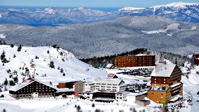 Türkiye'deki Kayak Merkezleri Kartalkaya – Bolu