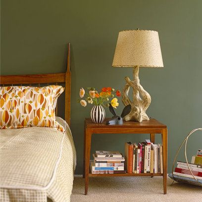 bedroom modern retro green modern retro bedroom with retro furniture - Retro Bedroom Design