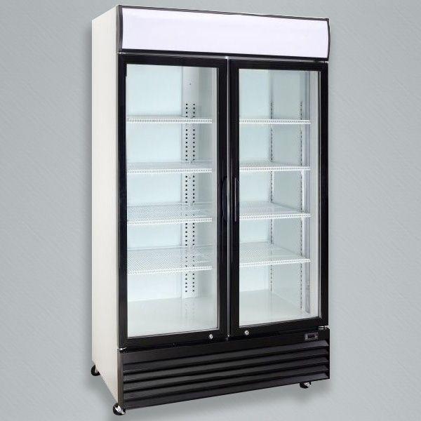 Our new VC-1000 Double Door Cooler. & 11 best Glass Door Merchandisers images on Pinterest | Glass doors ...