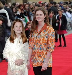 """Bonnie Wright (Ginny Weasley)   The """"Harry Potter"""" Cast At The First Vs. Last Premiere"""