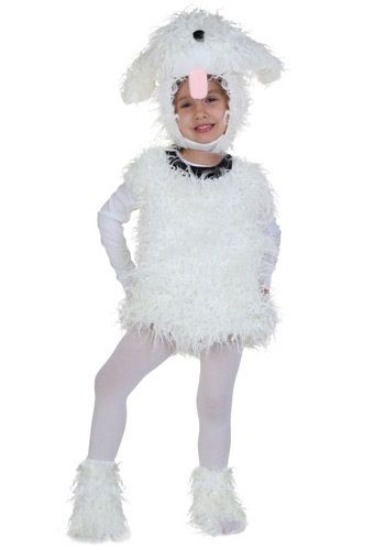 Toddler Shaggy Dog Costume @Billie Stabbert