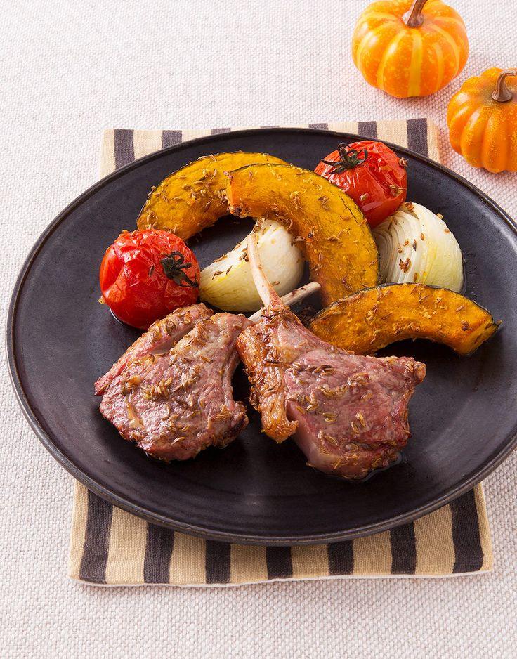 エスニックな風味が特長の「クミン」を、今人気のラム肉と合わせたダイナミックなメニュー。秋の人気イベント、ハロウィンのパーティにも大活躍します。