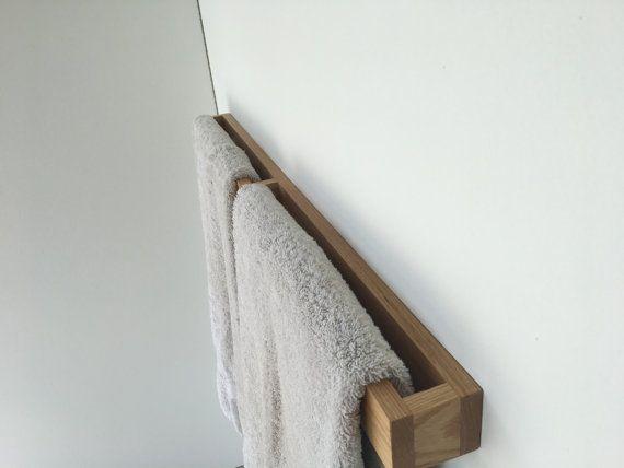 Badkamer handdoekenrek van DmsDesignTeam op Etsy