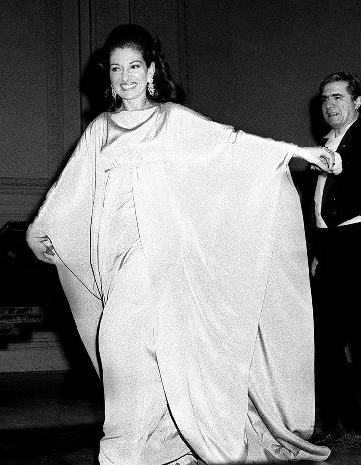 Maria Callas and Giuseppe Di Stefano at Carnagie Hall