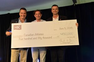 HBC's social responsibility initiatives work to foster and enhance sustainable business practices throughout the organization. Last month, HBC hosted one of the largest and most exciting corporate fundraising events in Canada, the HBC Charity Golf Tournament & Spa. Read more about the single biggest fundraiser for the Hudson's Bay Company Foundation here: http://ow.ly/yXgVb