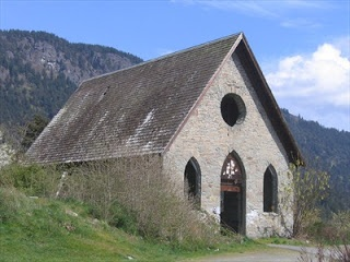 Old Stone Butter Church in the Cowichan Valley