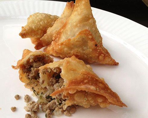 Somali sambusa recipe.
