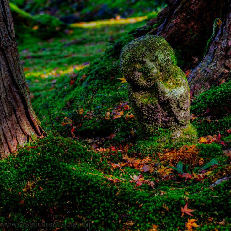 meditationDivination Guardian, Jizo Statues, Sanzenin Gardens, Temples Belong, Translation Jizo, Photos Womb, Regis Boileau, Tendai Sect, Kyoto Japan