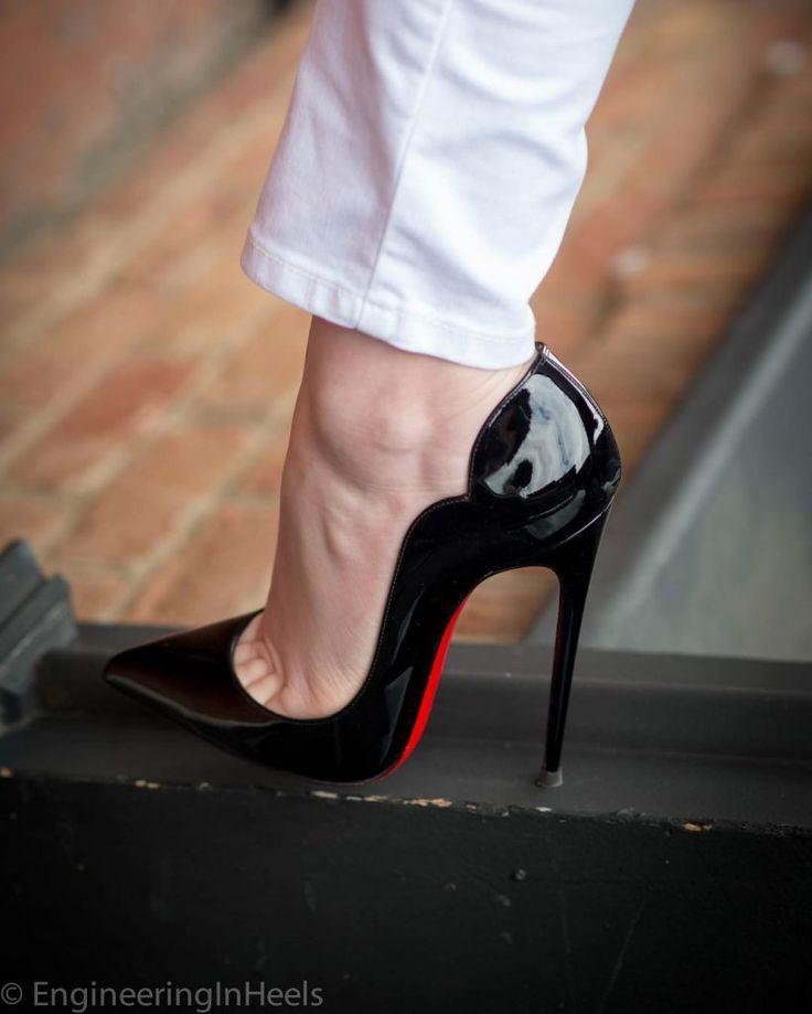 Les amooooo <3 !!! Christian Louboutin Hot Chick Heels 130mm