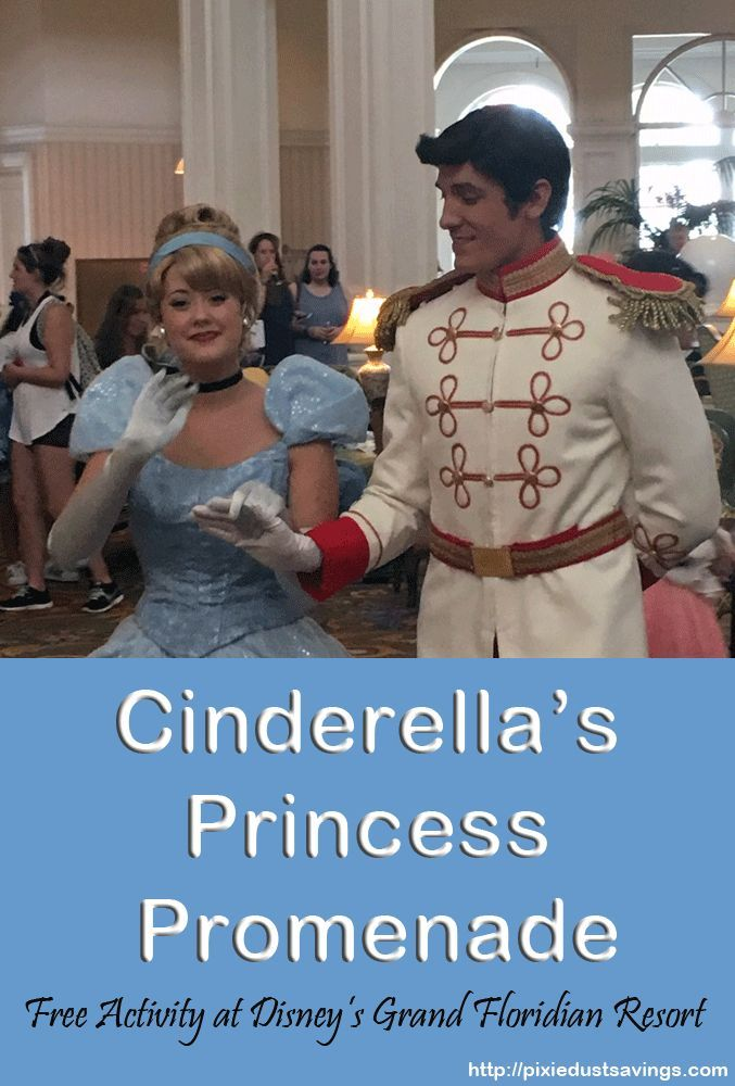 Disney World Resort Hopping Activity: Cinderella's Princess Promenade at the…