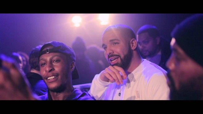 Drake Joins The Section Boyz On Stage In London (Video)