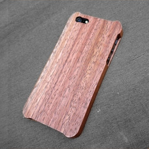 WK IDEA Premium Wooden Case for iPhone 5 - Walnut