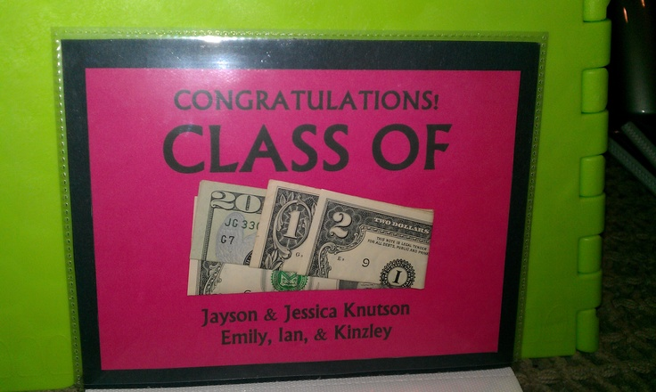 Class of 2012 ~ Homemade Graduation Card