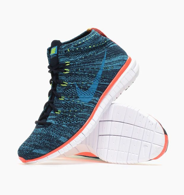 Check out the latest iteration o the Nike Free Flyknit Chukka and let us  know if
