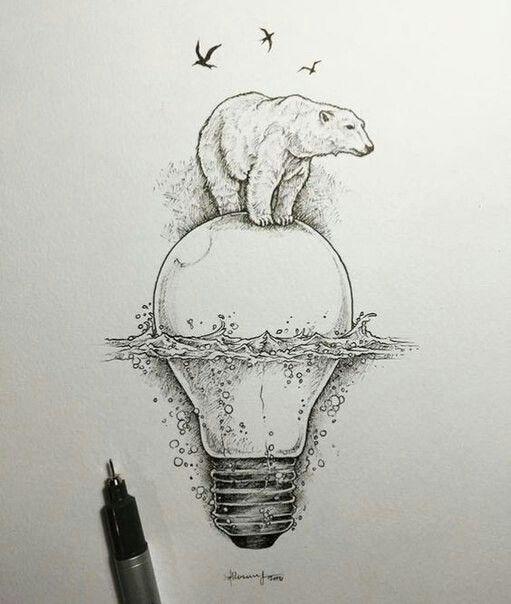 Рисунки с совами 4