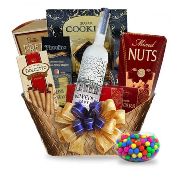 29 best Liquor & Alcohol Gift Baskets images on Pinterest ...