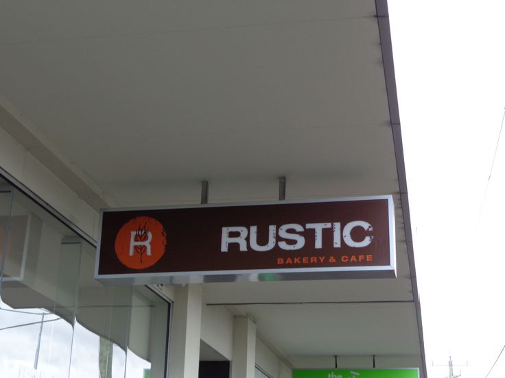 Rustic! Really good bakery!!