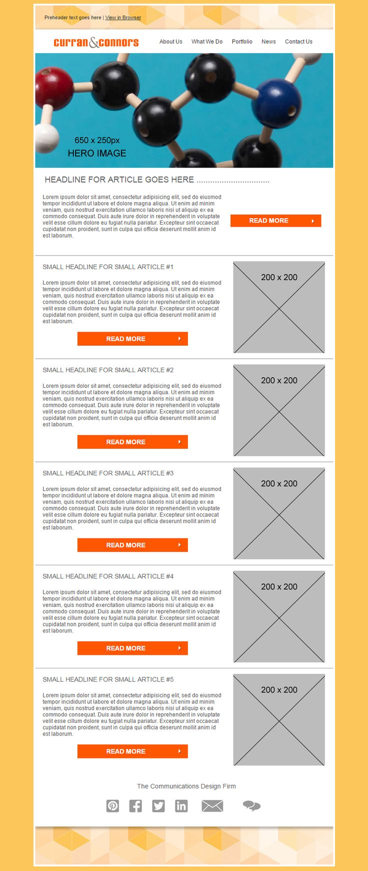 37 best Design Services Custom Email Templates images on ...