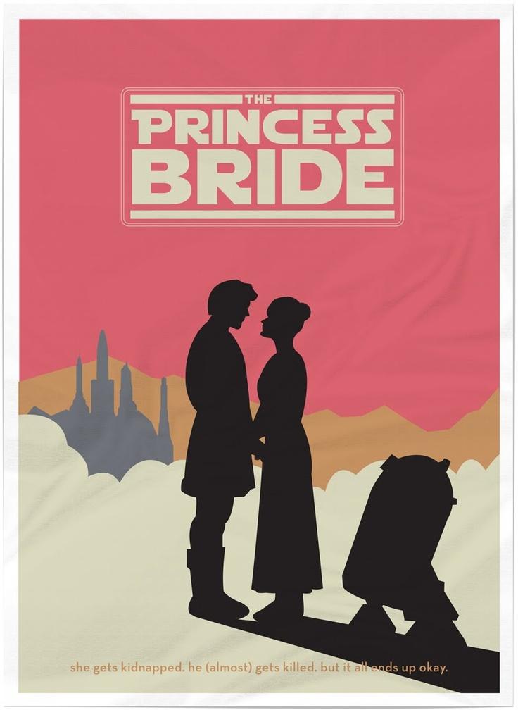 Star Wars: The Princess Bride: Movie Posters, Stars, Brides, Movies, Princessbride, Star Wars, Princesses, The Princess Bride, Starwars