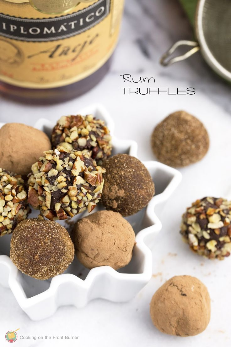 Chocolate rum truffle recipe easy