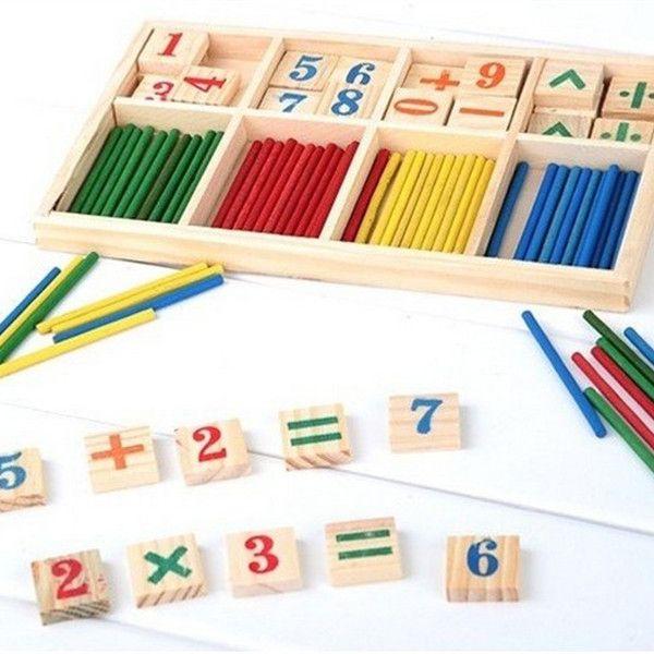 Montessori matematika, 114 Kč včetně dopravy #hračky #tvoření #děti #rodina #3dmámablog.cz #aliexpress #montessori