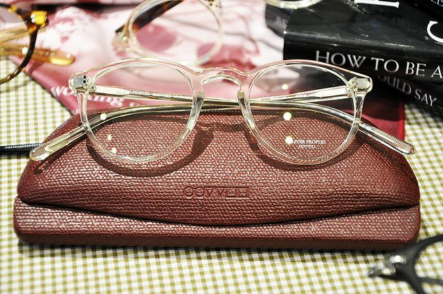 gorgeous oliver peoples clear frame o'malleys