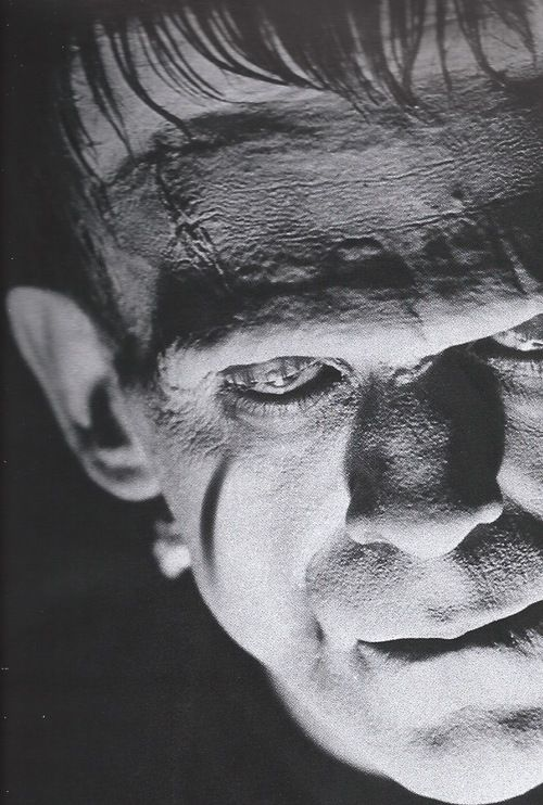 Boris Karloff as The Monster in 'Frankenstein', 1931.