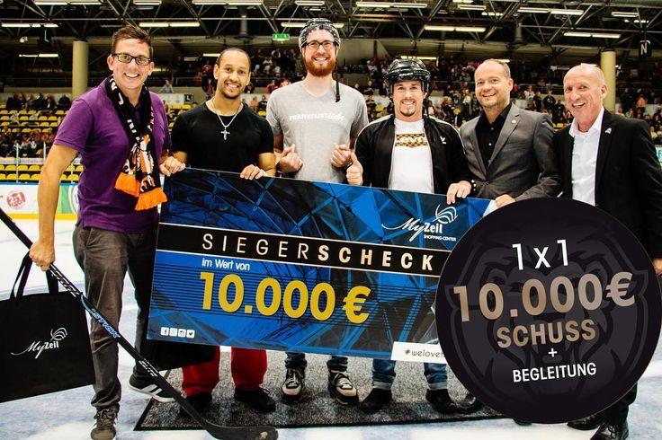Du bist zielsicher und wolltest du schon immer mal einen 10.000 Euro MyZeil Center-Gutschein gewinnen? Bei uns kannst du das mit nur EINEM Schuss beweisen! Gewinne nun mit den @loewenfrankfurt  1 x 2 Tickets für das Spiel am 27.10.2017 und DIE Chance deines Lebens! Einfach nur das Bild liken!  #myzeil #loewenfrankfurt #frankfurt #welovefrankfurt #icehockey