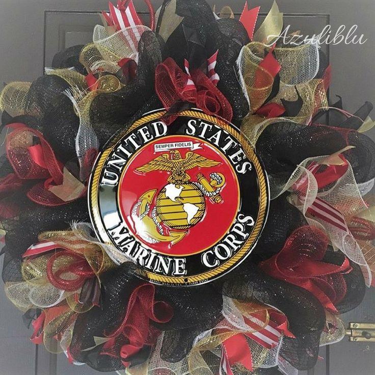 Marine corps wreath usmc wreath veterans gifts marine