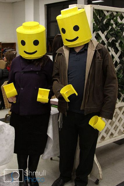 Lego Couple - Purim 5771   A self made costume Mr and Mrs le…   Flickr