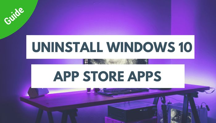 Downloaded a app from the windows 10 app store and want to uninstall the app. Cannot find the windows 10 app in control panel, add or remove programs??