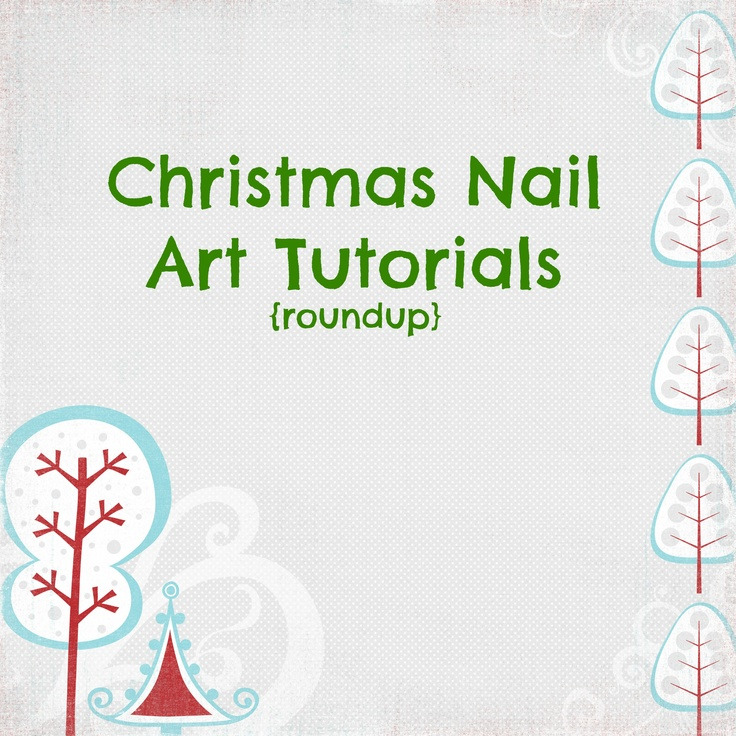 Christmas Nail Art Tutorial Gingerbread Galore: 10+ Images About Cute Nails On Pinterest