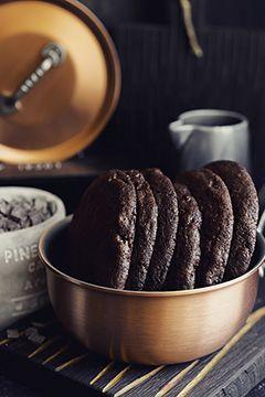 Гигантское печенье с шоколадом