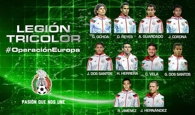 #Futbol: Convocatoria de la Selección Mexicana para jugadores que participan en el extranjero http://jighinfo-futbol.blogspot.com/2014/10/convocatoria-de-la-seleccion-mexicana.html?spref=tw