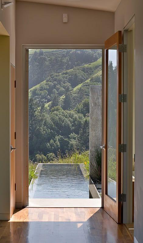 """""""Moodboard Pool"""" by the Interior-Design-Blog www.leuchtend-grau.de"""