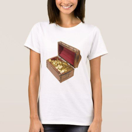 TreasureChestGold100309 T-Shirt - tap, personalize, buy right now!