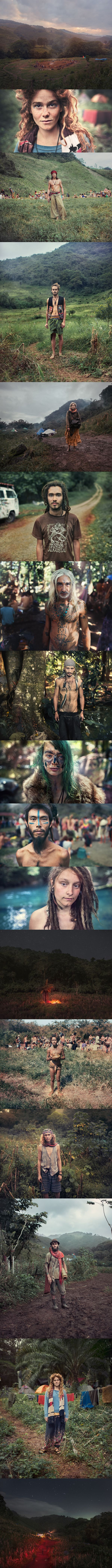 Rainbow Gathering 2012-2013 By Benoit Paillé #wsar