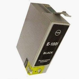 cartuchos de tinta compatibles: Tinta compatible epson c13t10014010 t1001 negro - ...