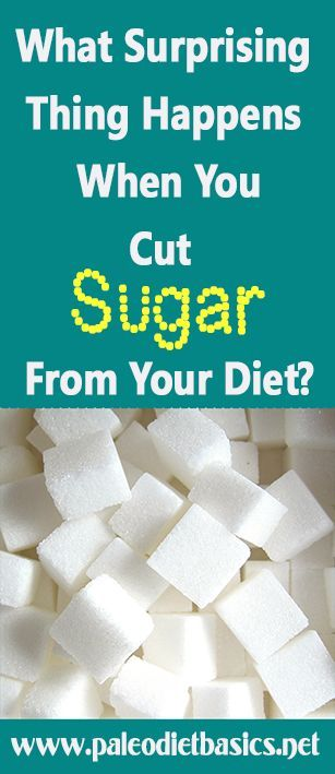 A very fascinating thing happens when you eliminate sugar completely from your diet. www.paleodietbasics.net: