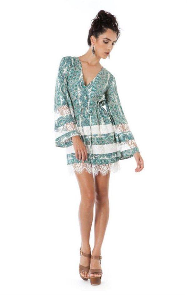 Swift Tunic Dress by The Wallflower www.twistofbliss.com.au