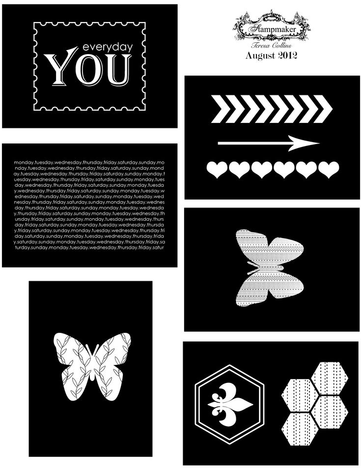 August 2012 free download as designed by Amanda Jones Robinson.