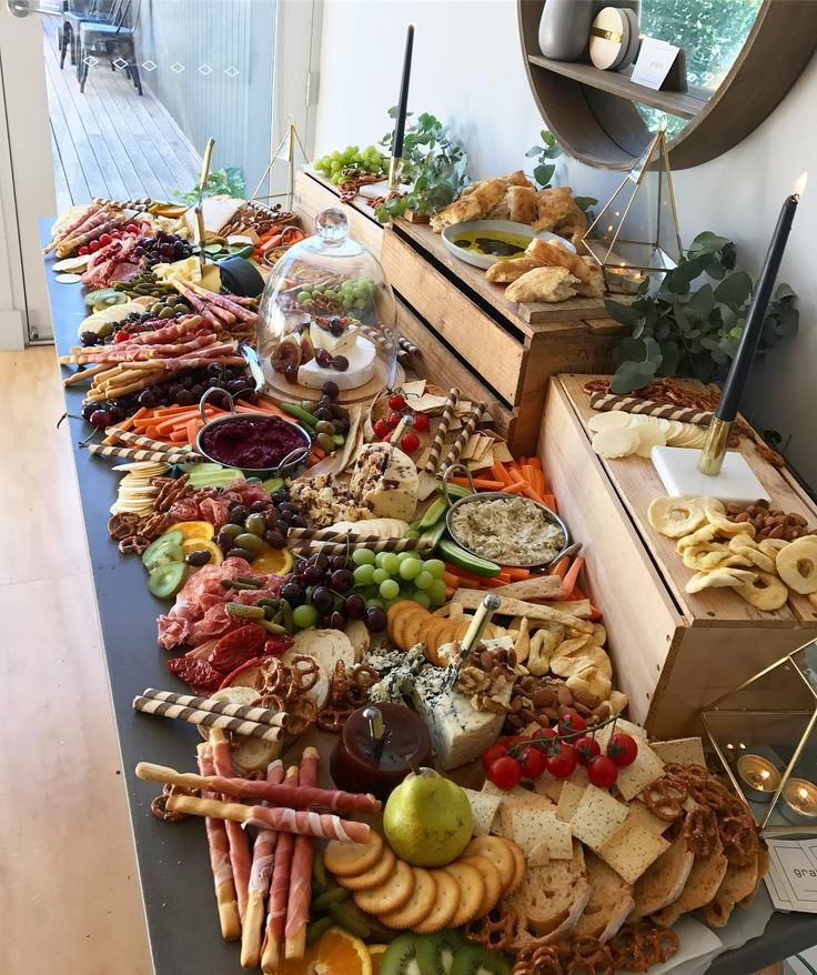 Glorious Grazing Table Grazegourmetplatterco Party Food