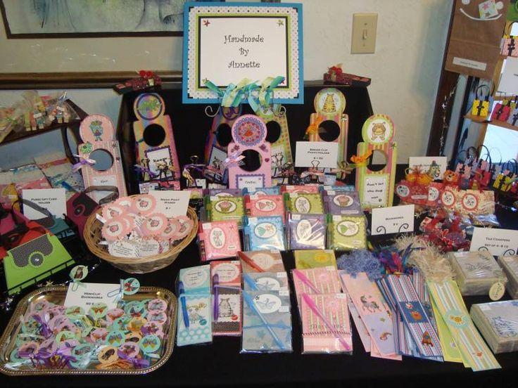 Paper Crafts Fair Ideas Craft Fair Display By Buggainok