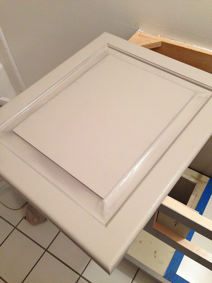 HOW TO PAINT BATHROOM CABINETS - withHEART